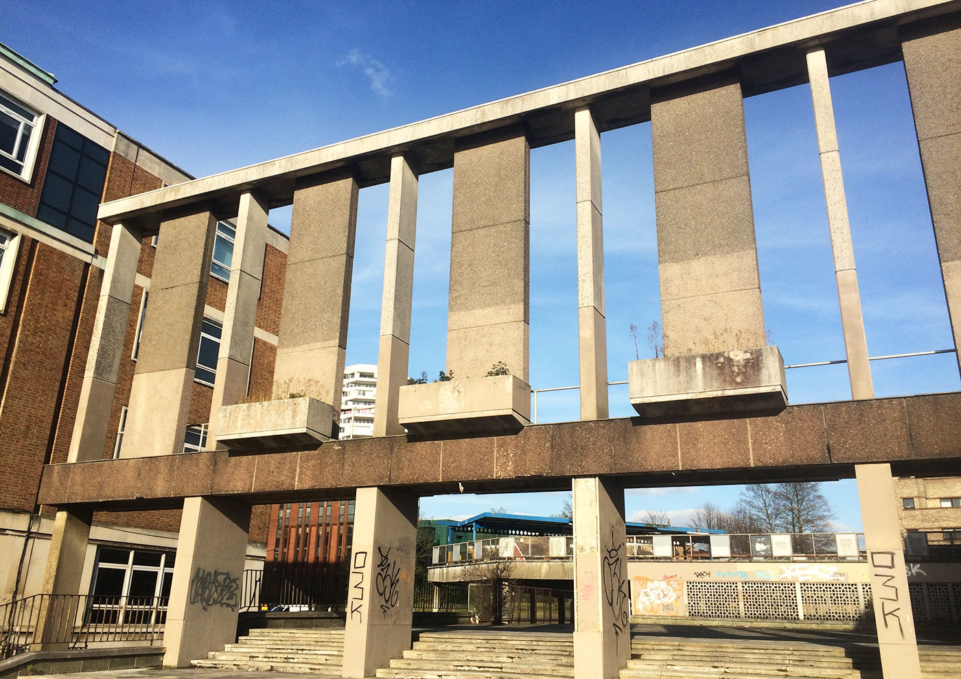 Croydon College and the Fairfield Halls