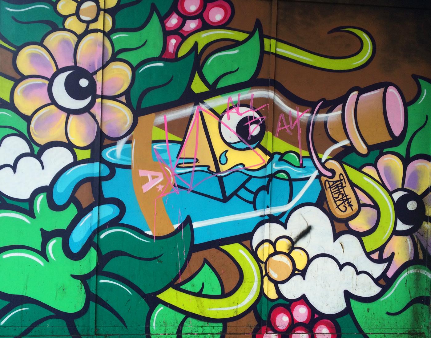 Mural project, Croydon
