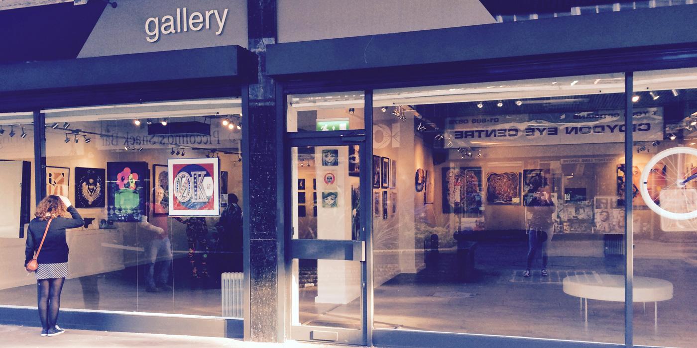 RISE gallery, Croydon