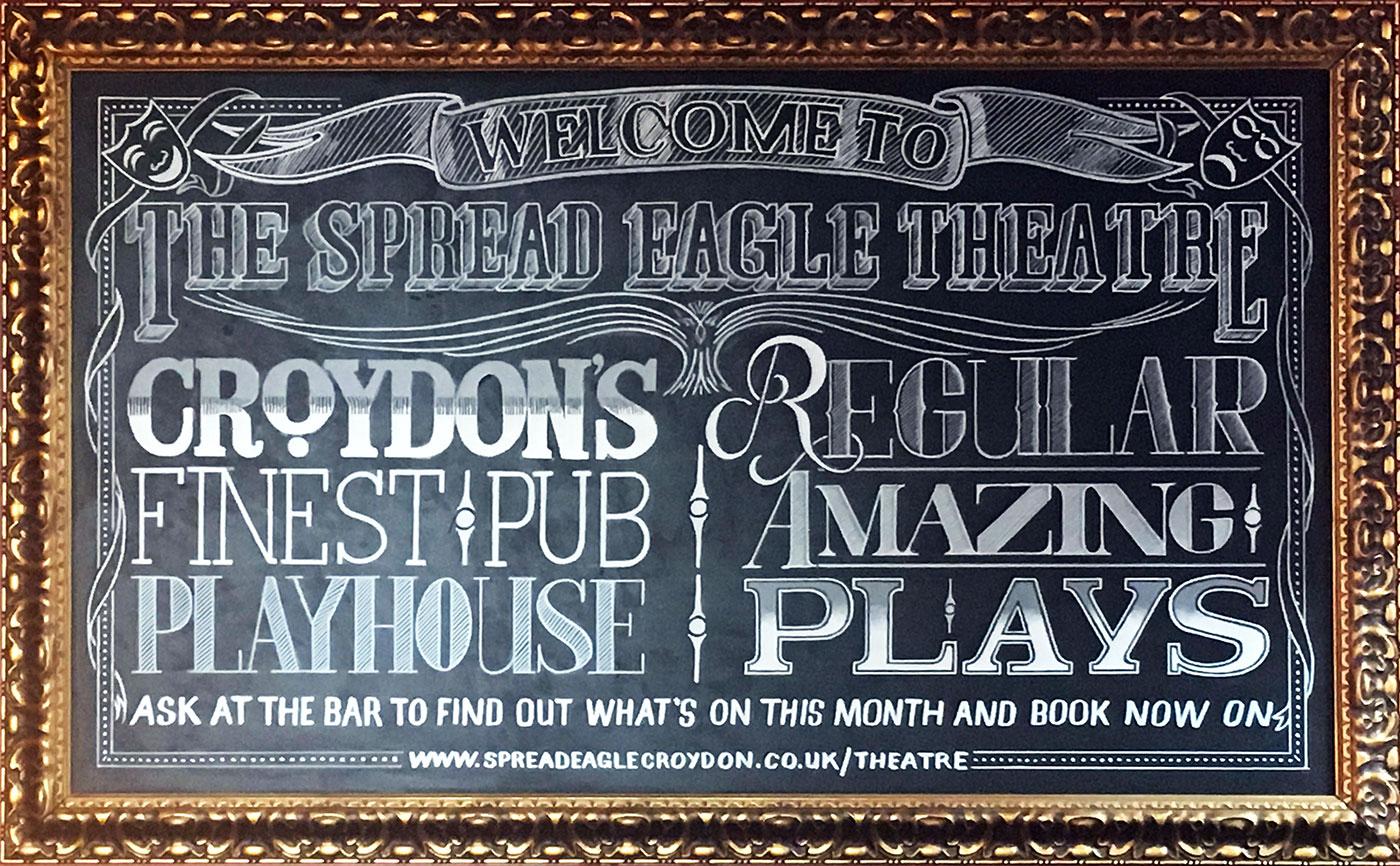 The Spread Eagle pub, Croydon