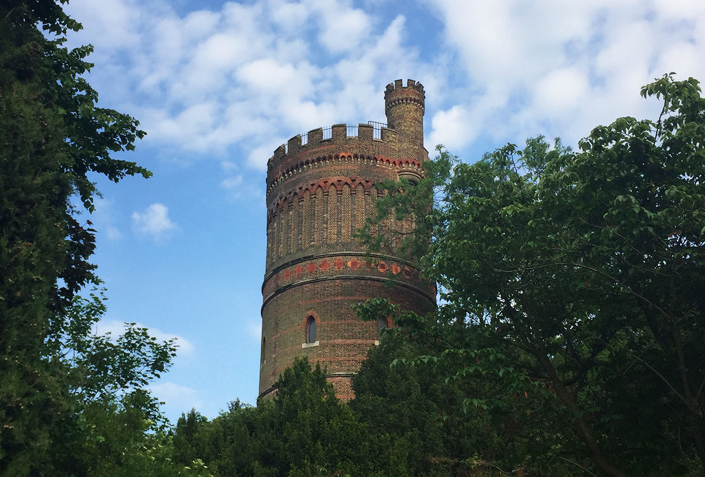 Water Tower, Park Hill, Croydon