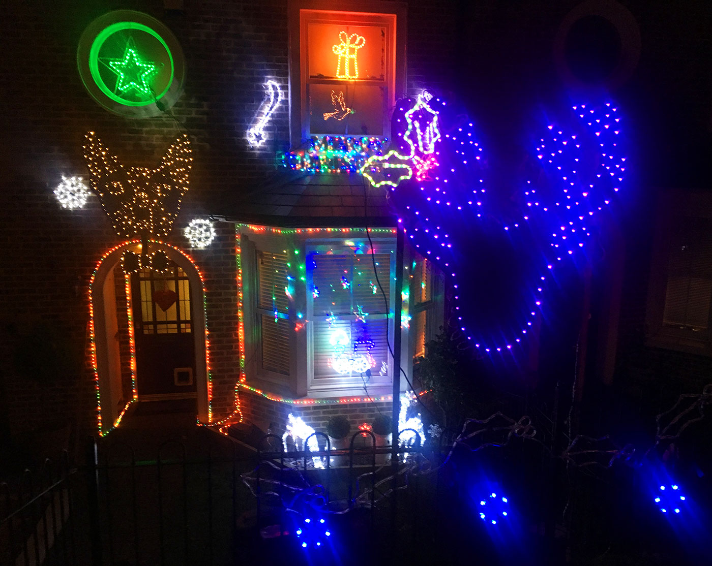 Croydonist Christmas lights competition