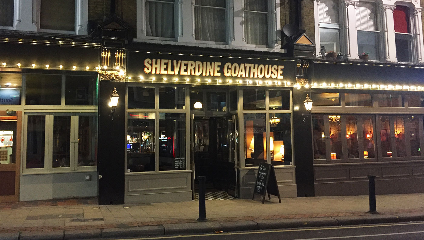 Shelverdine Goathouse