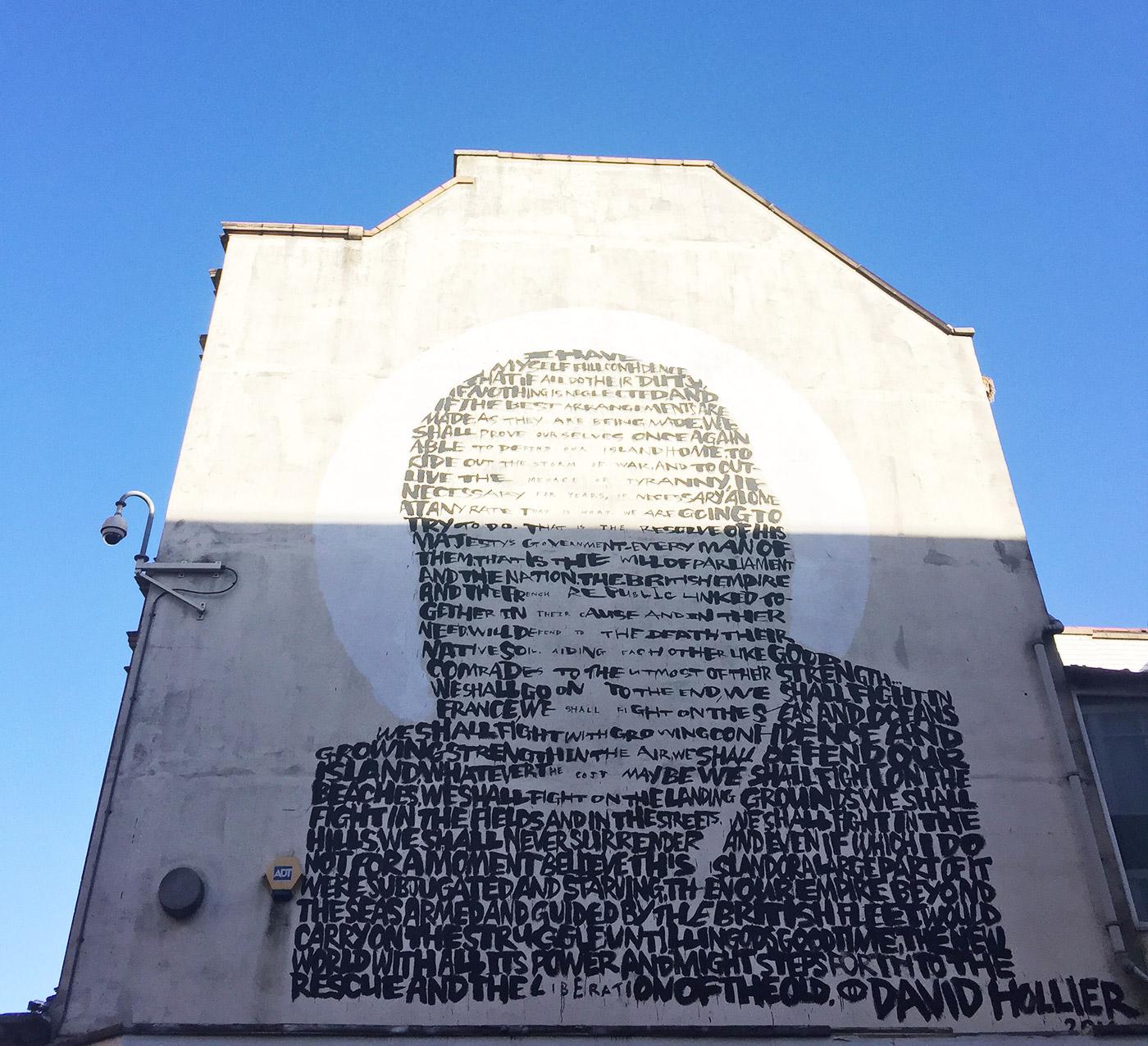 Winston Churchill –David Hollier