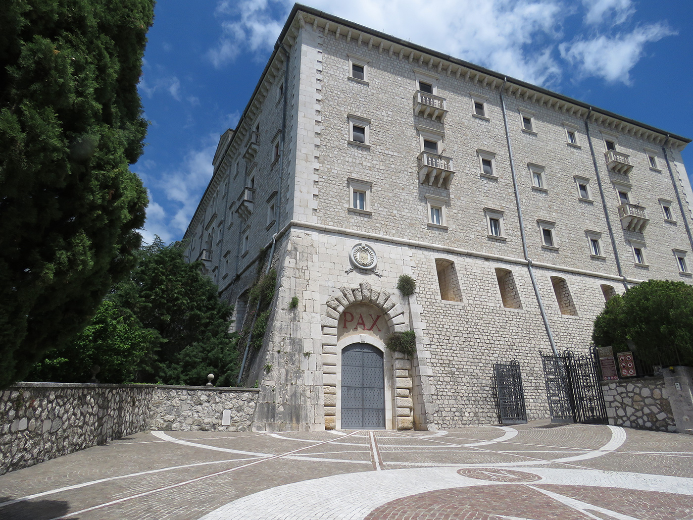 Montecassino Monastery, now