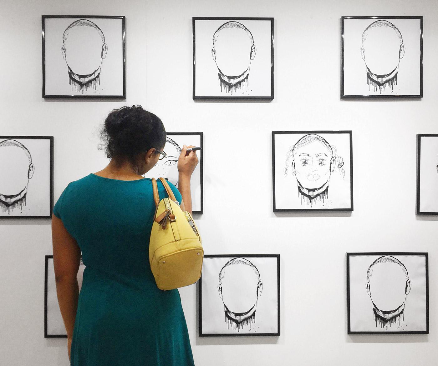Bareface exhibition