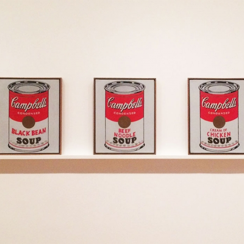 Pop goes the Warhol