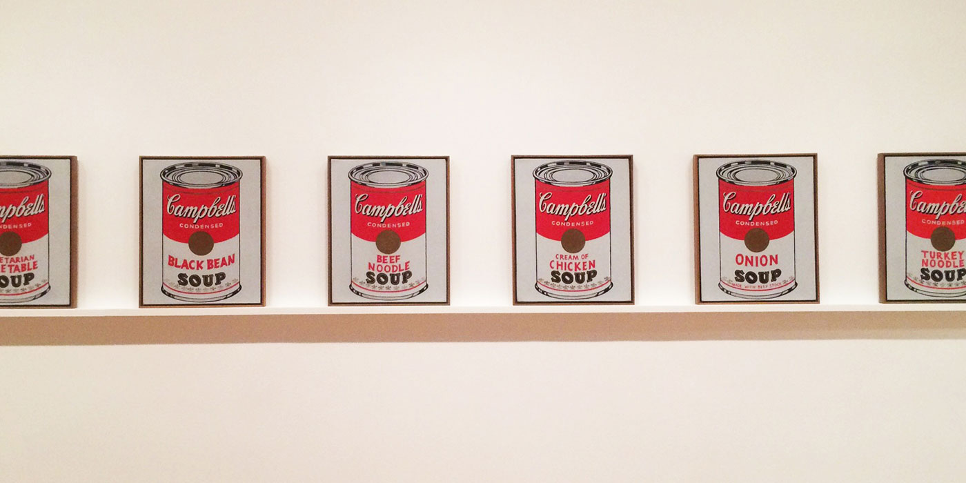 Warhol artworks Moma New York