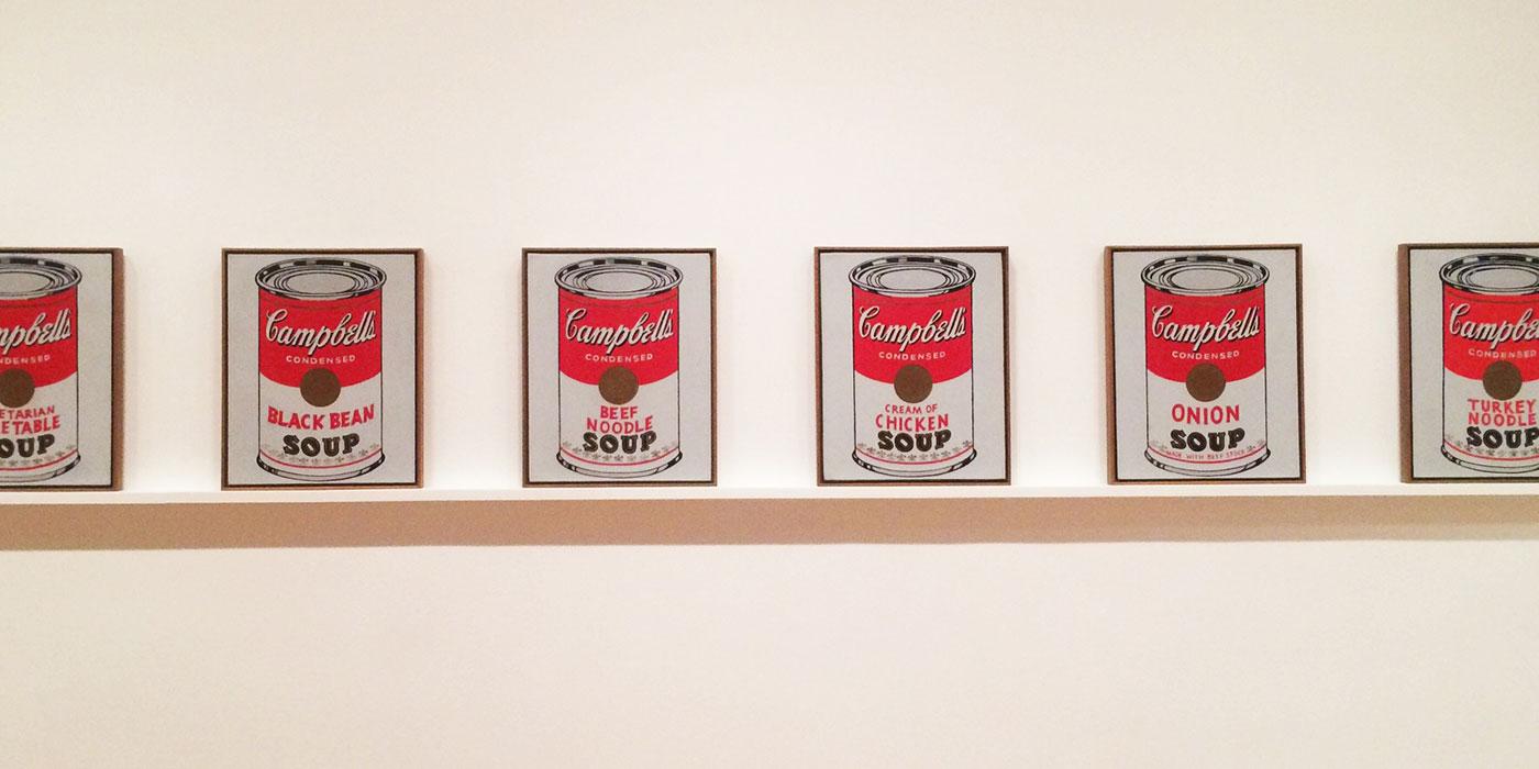Warhol artworks Moma New York
