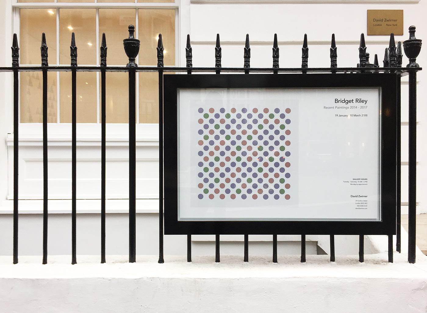 Bridget Riley, David Zwirner London