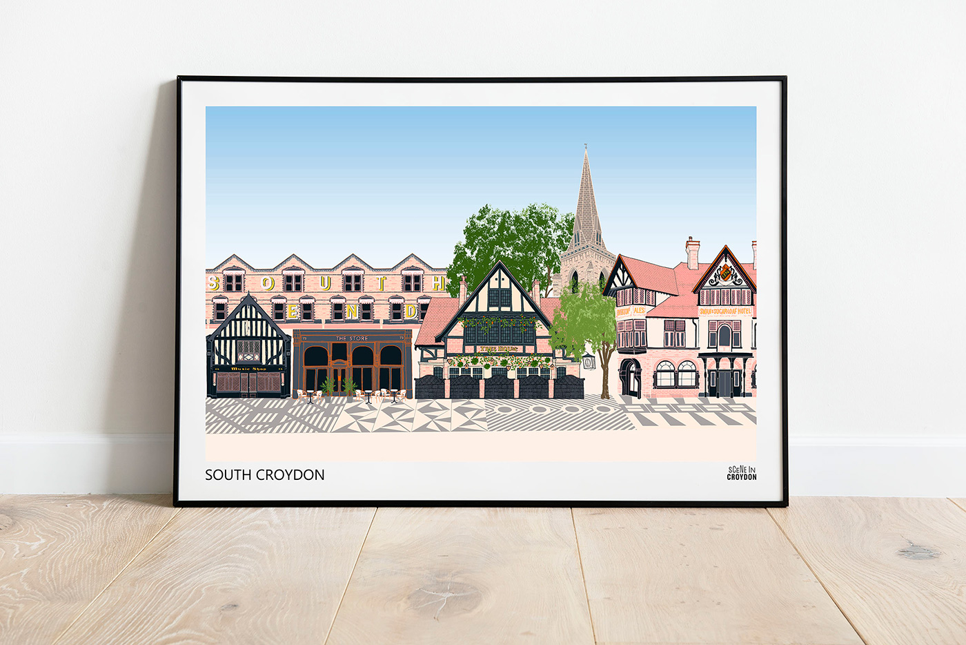 Scene In Croydon