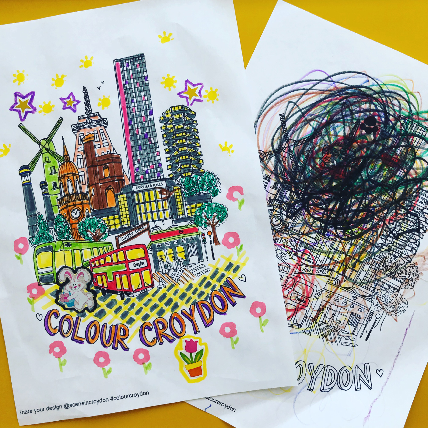 Colour in Croydon Competition