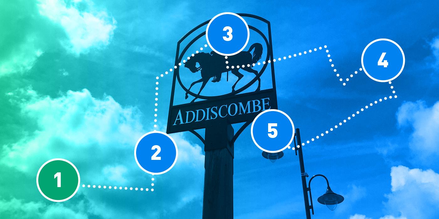 Addiscombe blue plaque run